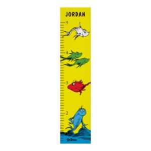 Dr. Seuss   One Fish Two Fish - Growth Chart