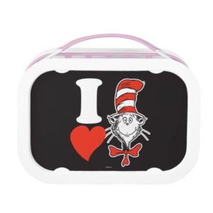 Dr. Seuss Valentine   I Heart the Cat in the Hat Lunch Box