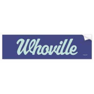 Dr. Seuss | Whoville Script Logo Bumper Sticker