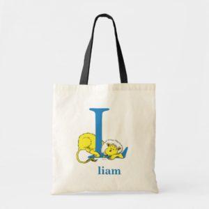 Dr. Seuss's ABC: Letter L - Blue | Add Your Name Tote Bag