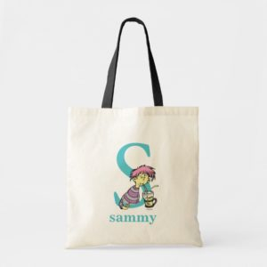 Dr. Seuss's ABC: Letter S - Blue | Add Your Name Tote Bag