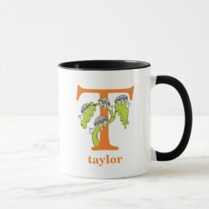 Dr. Seuss's ABC: Letter T - Orange | Add Your Name Mug