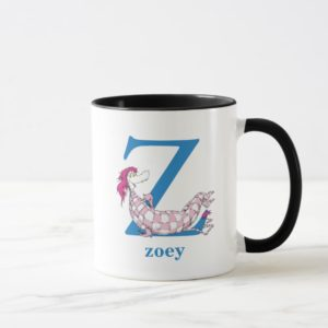 Dr. Seuss's ABC: Letter Z - Blue | Add Your Name Mug
