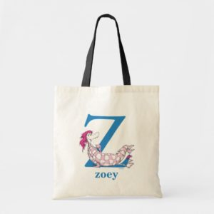 Dr. Seuss's ABC: Letter Z - Blue | Add Your Name Tote Bag