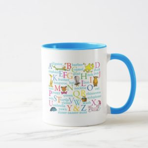 Dr. Seuss's ABC Pattern with Words Mug