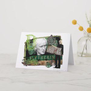 Draco Malfoy Collage 1 Card