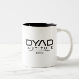 Dyad Institute - Orphan Black Two-Tone Coffee Mug