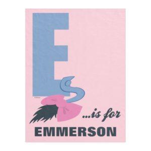 E is for Eeyore | Add Your Name 2 Fleece Blanket