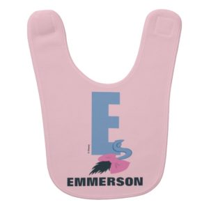 E is for Eeyore | Add Your Name Bib