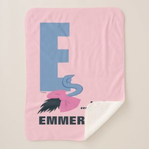 E is for Eeyore | Add Your Name Sherpa Blanket