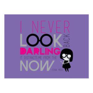 Edna Mode - I Never Look Back Postcard