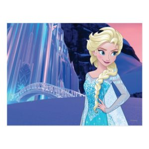 Elsa   Eternal Winter Postcard