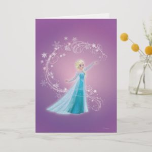 Elsa | Love Thaws, Love Glows Card