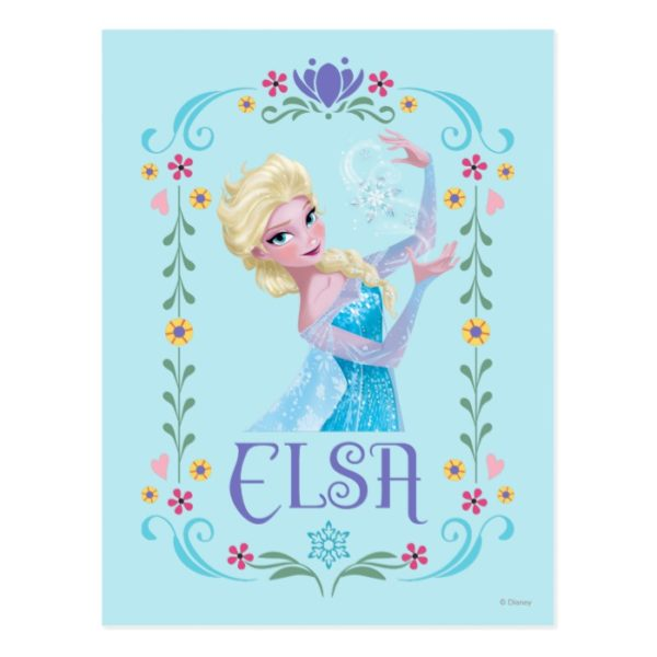 Elsa | My Powers are Strong Postcard