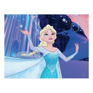 Elsa   Sparkling, Elegant Ice Postcard