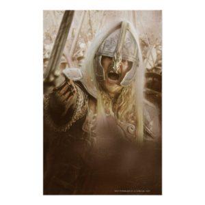 Eomer with Helmet Poster