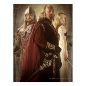 Eowyn and Theoden Postcard