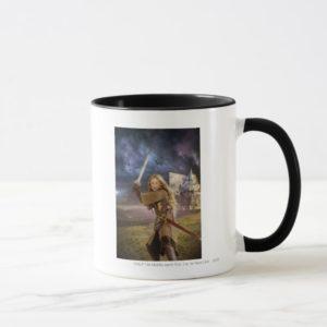 Eowyn Raises Sword Mug