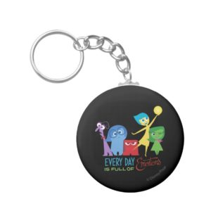 Everyday is Full of Emotions Keychain