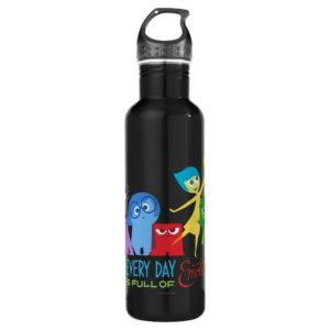 Everyday is Full of Emotions Stainless Steel Water Bottle