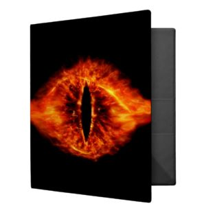 Eye of Sauron 3 Ring Binder