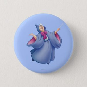 Fairy Godmother Pinback Button