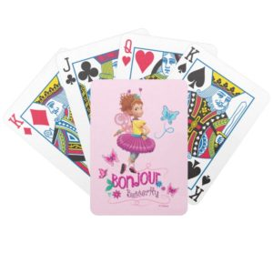 Fancy Nancy | Bonjour Butterfly Bicycle Playing Cards