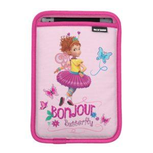 Fancy Nancy   Bonjour Butterfly iPad Mini Sleeve