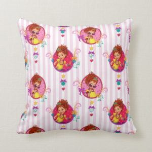 Fancy Nancy | Charm & Grace Pattern Throw Pillow