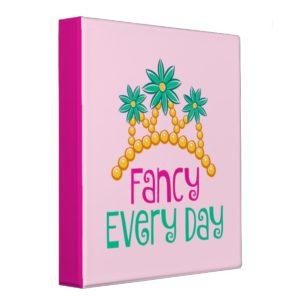 Fancy Nancy | Fancy Every Day 3 Ring Binder