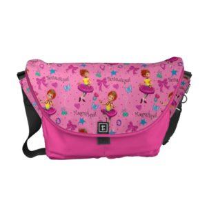 Fancy Nancy | Magnifique Pink Pattern Courier Bag