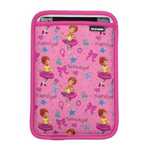 Fancy Nancy   Magnifique Pink Pattern iPad Mini Sleeve