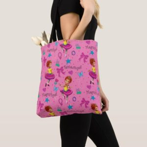 Fancy Nancy | Magnifique Pink Pattern Tote Bag