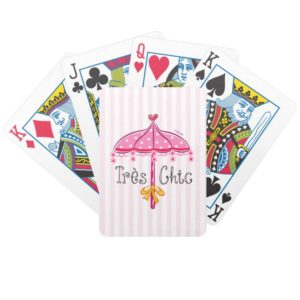 Fancy Nancy   Tres Chic Bicycle Playing Cards