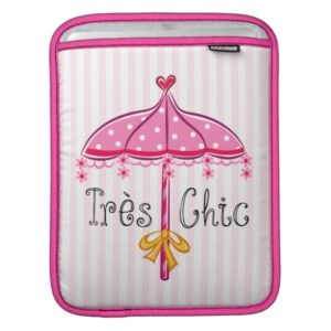 Fancy Nancy | Tres Chic iPad Sleeve