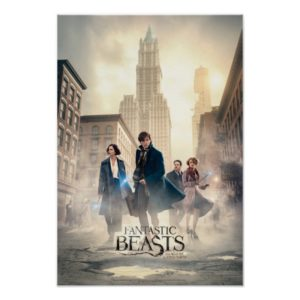 FANTASTIC BEASTS AND WHERE TO FIND THEM™ City Fog Poster
