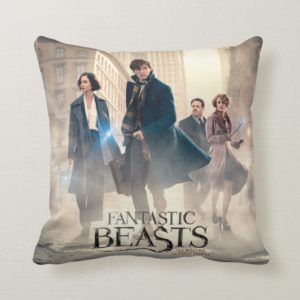 FANTASTIC BEASTS AND WHERE TO FIND THEM™ City Fog Throw Pillow