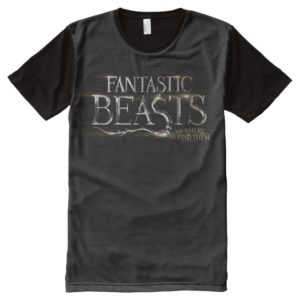 FANTASTIC BEASTS AND WHERE TO FIND THEM™ Logo All-Over-Print T-Shirt