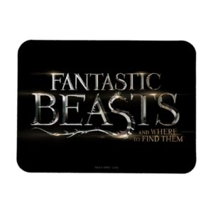 FANTASTIC BEASTS AND WHERE TO FIND THEM™ Logo Magnet