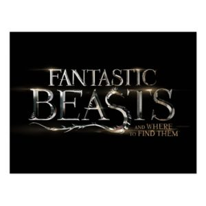 FANTASTIC BEASTS AND WHERE TO FIND THEM™ Logo Postcard