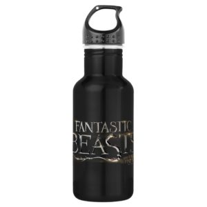 FANTASTIC BEASTS AND WHERE TO FIND THEM™ Logo Stainless Steel Water Bottle