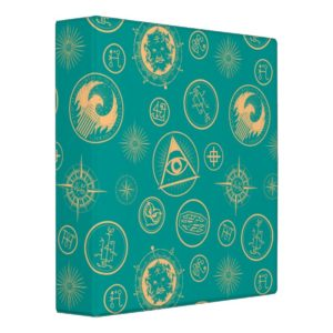 FANTASTIC BEASTS AND WHERE TO FIND THEM™ Pattern 3 Ring Binder
