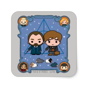 FANTASTIC BEASTS: THE CRIMES OF GRINDELWALD™ SQUARE STICKER
