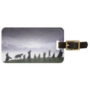 Fellowship of the Ring Trail Bag Tag