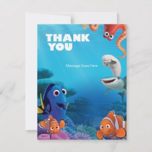Finding Dory Birthday Thank You