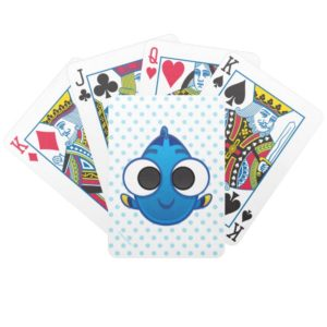 Finding Dory | Dory Emoji Bicycle Playing Cards