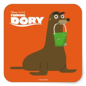 Finding Dory | Gerald Square Sticker