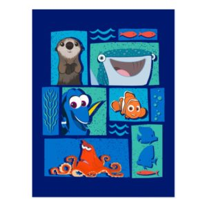 Finding Dory | Group of Characters Postcard