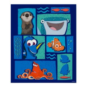Finding Dory | Group of Characters Poster