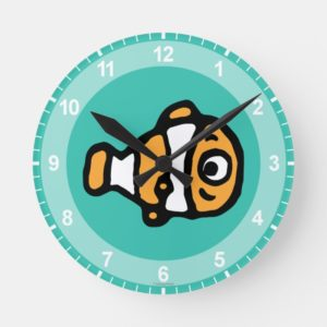 Finding Dory | Nemo Cartoon Round Clock